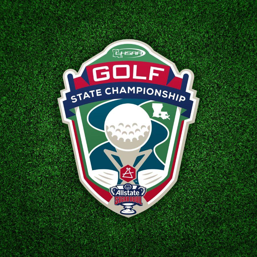 LHSAA Golf State Championship Logo Design